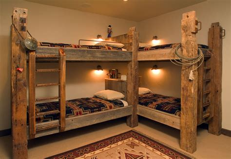 Rustic Corner Bunk Bed Plans