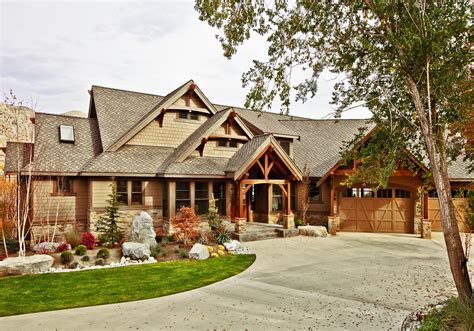 Rustic Craftsman House Plans