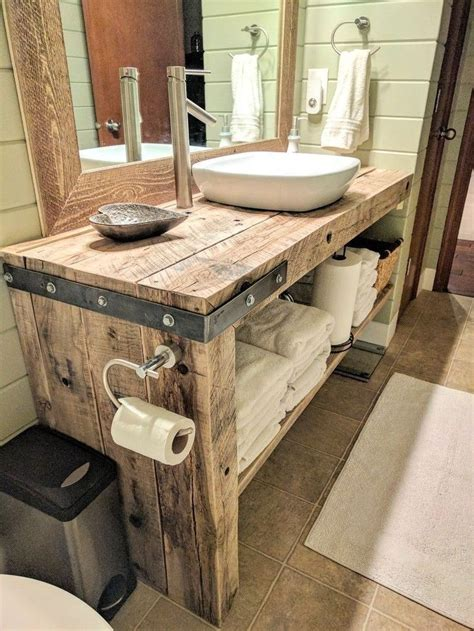 Rustic Diy Bathroom Sink
