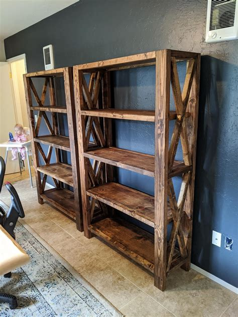 Rustic Diy Bookcase