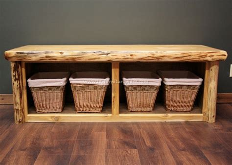 Rustic Diy Foot Of Bed Bench