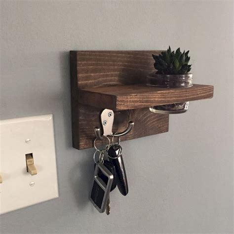 Rustic Diy Key Holder