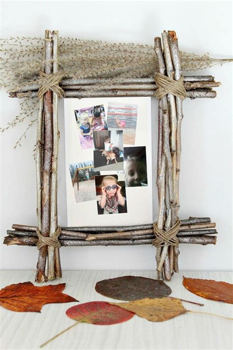 Rustic Diy Photo Frame Ideas