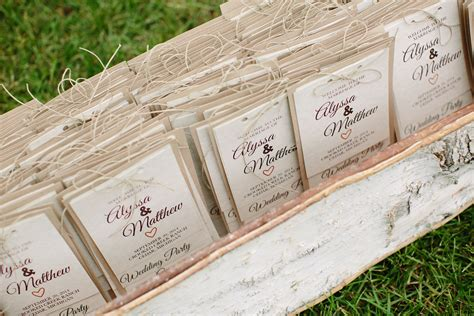 Rustic Diy Wedding Programs