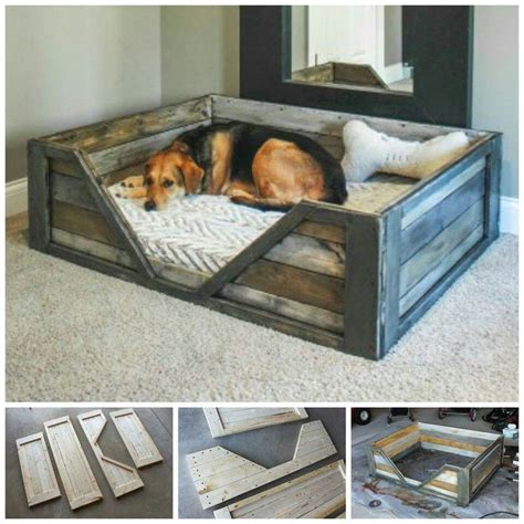 Rustic Dog Bed Diy Pallet