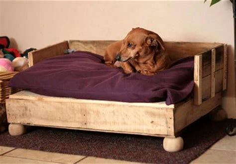 Rustic Dog Bed Diy With Stairs