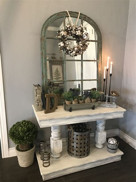 Rustic Farmhouse Entry Table Plans