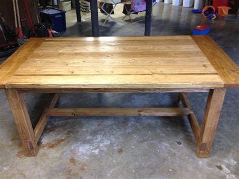 Rustic Farmhouse Table Plans A Lesson Learned