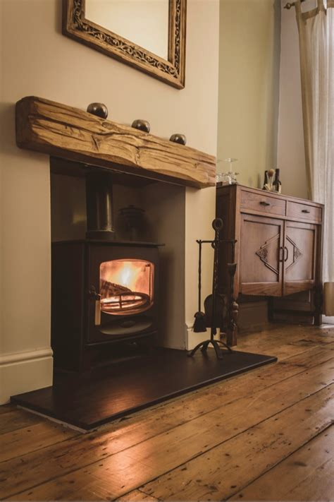 Rustic Fireplace Mantels Diy
