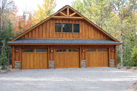 Rustic Garage Plan With Carport