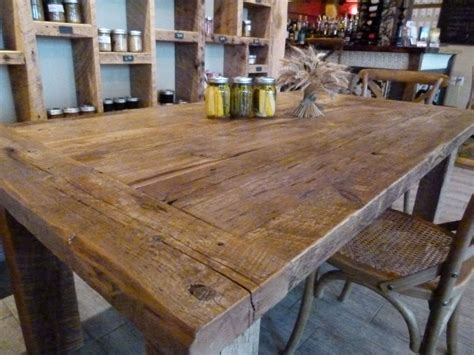 Rustic Harvest Table Plans