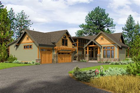 Rustic Home Plans With Garage