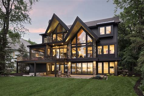 Rustic Lake House Plans