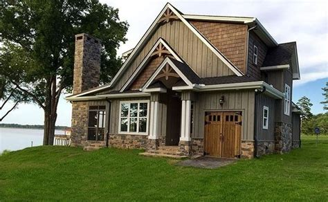 Rustic Lake House Plans Small Lot