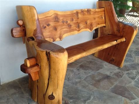 Rustic Log Table Plans