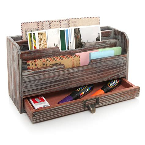 Rustic Mail Organizer Plans