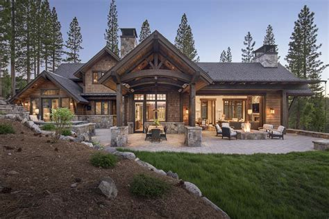 Rustic Mountain Home Plans