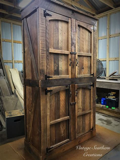 Rustic Pantry Cabinet Plans