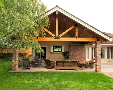 Rustic Patio Cover Plans