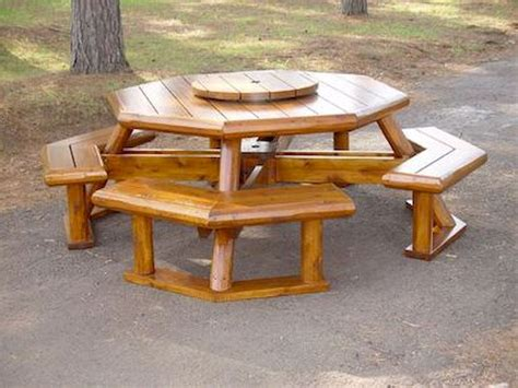 Rustic Picnic Tables Diy Ideas Pictures