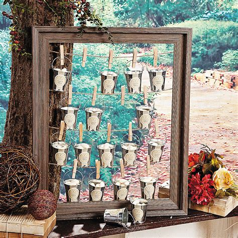Rustic Picture Frame Diy Wedding Favors