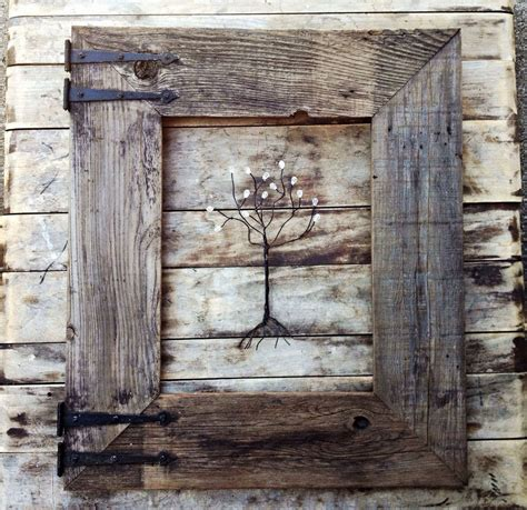 Rustic Picture Frames Ideas