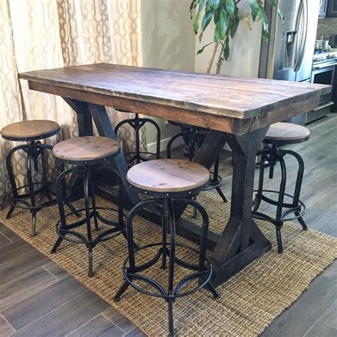 Rustic Pub Table Ideas