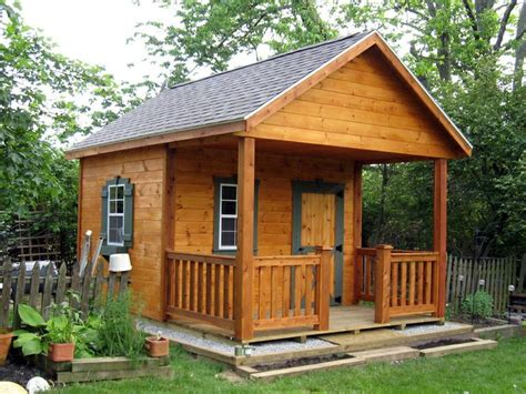 Rustic Shed Plans With A Porch