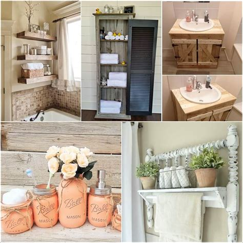 Rustic Storage Ideas For Bathroom