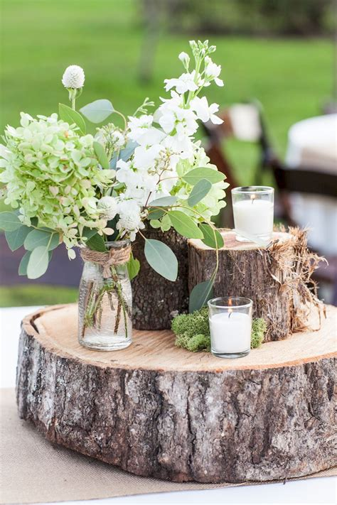 Rustic White Table Diy Favors