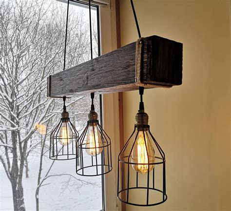 Rustic Wood Chandelier Lighting Pics