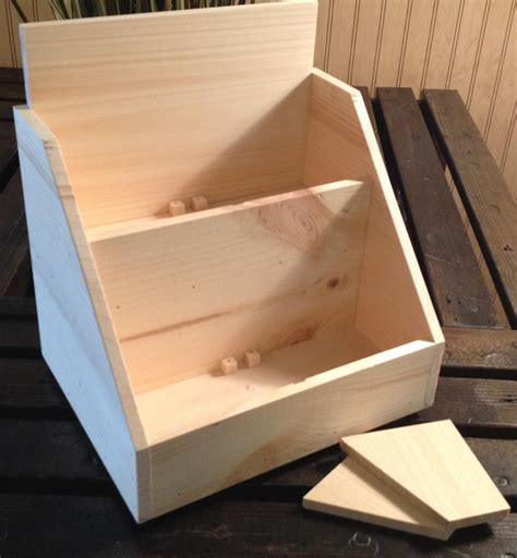 Rustic Wood Display Boxes