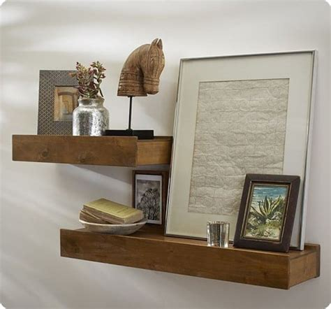 Rustic Wood Floating Shelves Ikea
