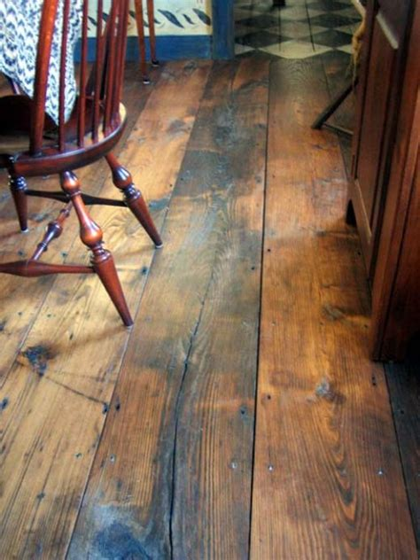 Rustic Wood Flooring Diy