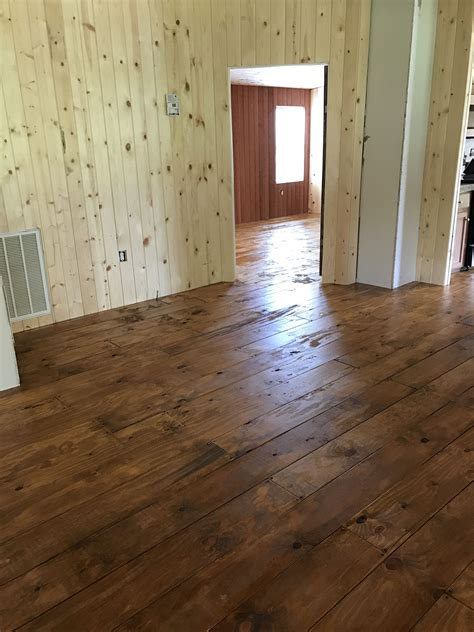 Rustic Wood Flooring Ideas With Plywood