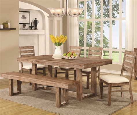 Rustic Wood Kitchen Table And Chairs Plans