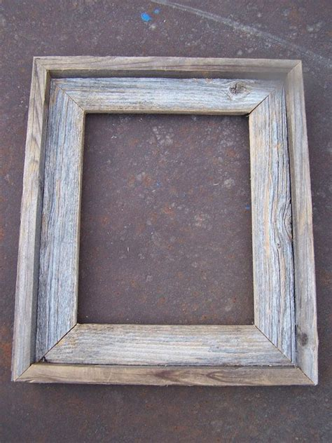 Rustic Wood Picture Frame Plans