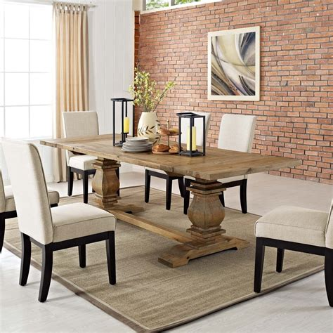 Rustic Wood Tables Dining
