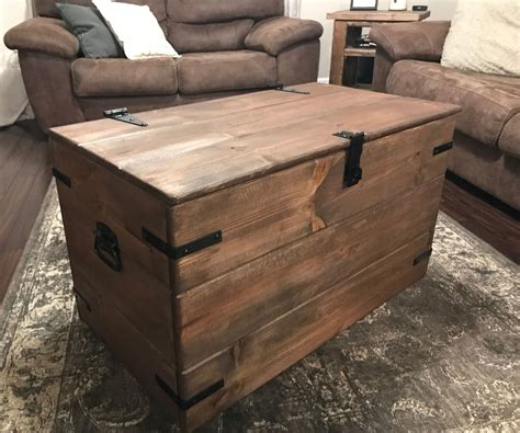 Rustic Wooden Chest Plans
