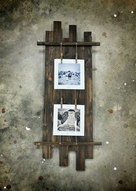 Rustic Wooden Picture Frame Diy