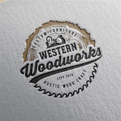 Rustic Woodworking Logo