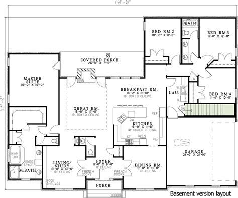 Rustic-4-Bedroom-House-Plans