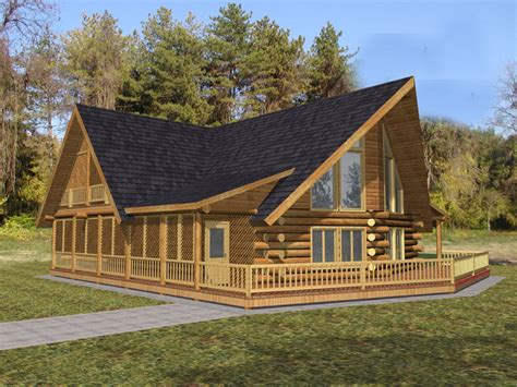 Rustic-A-Frame-House-Plans