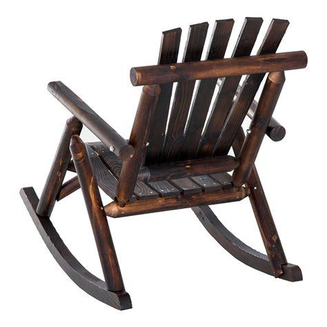 Rustic-Adirondack-Rocking-Chairs
