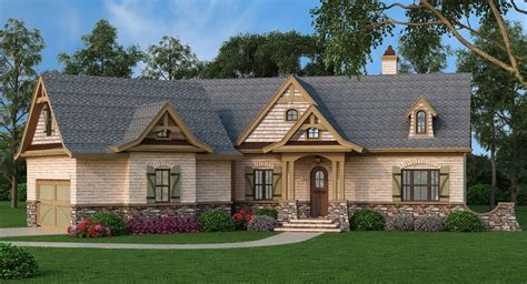 Rustic-Angled-House-Plans