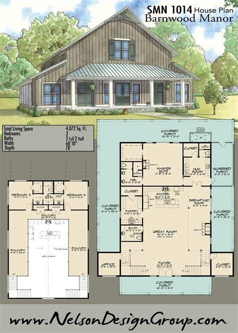 Rustic-Barn-Home-Floor-Plans