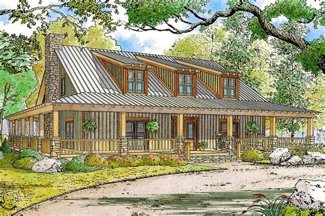 Rustic-Country-House-Plans