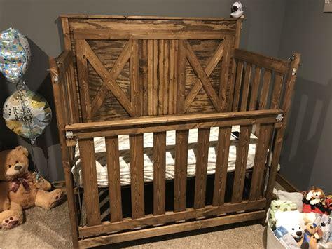 Rustic-Crib-Diy