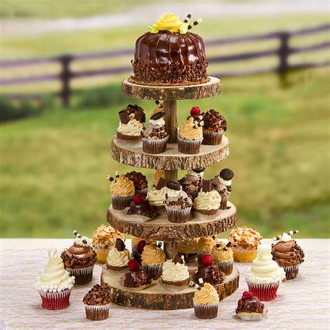 Rustic-Cupcake-Stand