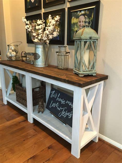 Rustic-Entryway-Table-Plans